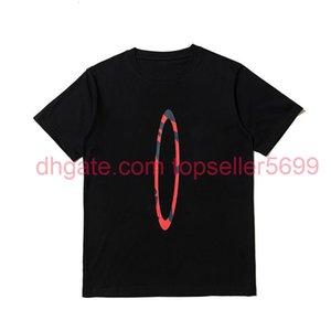Imprimer Femmes Hommes T-shirts EES HiPHOP Streetwear Amis Coton Sleeve Sleeve Big Shirt