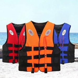 الحياة في الهواء الطلق سترة المهنية للأطفال الكبار السباحة الغوص ركوب ارتداء الصيد دعوى الانجراف مستوى سترة