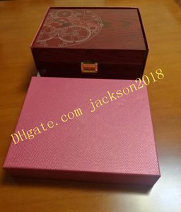 Factory Seller Aquanaut Watch Boxes Original Box Papers Card Red Wood Boxe Handbag For Nautilus 5167 5711 5712 5740 5726 5980 Watches