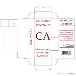 Custom Packaging For Vape Cartridges Customs Logo Childproof Bag Ecig Design Customized Paper Gift OEM Box Blister Package Pre-Roll Stickers