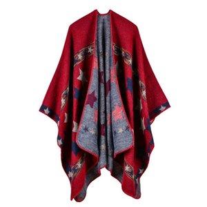 Luxury Brand scarves shawls American European Style Shawls New Fashion Lady & Wraps High Quality Imitation Cashmere Star