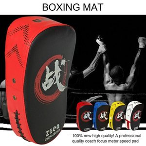 Sand Bag Quality Kick Boxing Pad Punching Foot Target Mi Sparring Muay Thai Training Gear 4 Colors