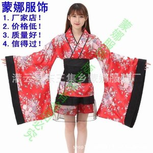 Dresses -37 degrees of Casual temptation Cosplay anime kimono Maid Costume paradise pure land house dance Lolita pretend