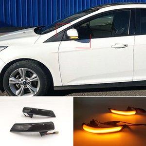 2Pcs For Ford Focus 2 MK2 Focus 3 MK3 3.5 For Mondeo MK4 EU Dynamic Turn Signal Light Side Mirror Indicator Blinker Lamp