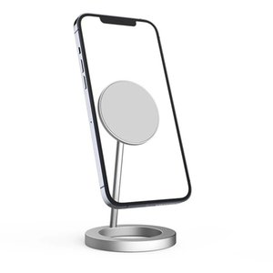 Magnetic Wireless Charger for iPhone 12 Pro Max IP12 Mini 15W Fast Charging Stand with Retail Box 20pcs up