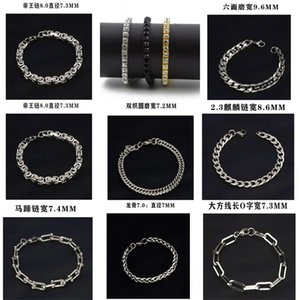 2021 Hip Hop Bracelet Gold Plated Bling Bling 1 Row Iced Out Cz Bracelet Top Fashion delicate Mens Jewelry 1271 Q2