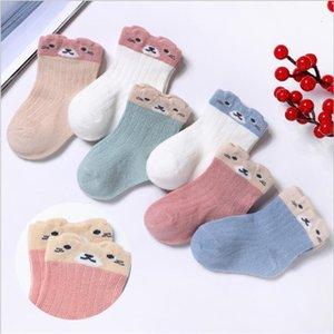 Baby spring and autumn new baby socks children cartoon thin loose mouth socks boys and girls newborn sock