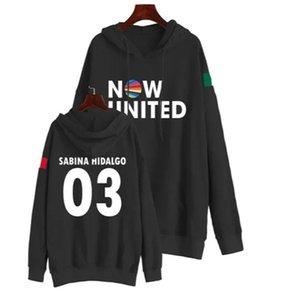 Now United Sabina Hidalgo 03 Hoodie Sweatshirts Trui Harajuku Trainingspak Streetwear Mannen Vrouwen Casual Capuchon Print Women's Hoodies &