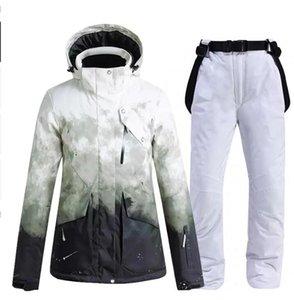 Skiing Jackets Ski Suit Women Windproof Waterproof Breathable Warm Men Outdoor Snowboard Pants High Quality Winter Jacket