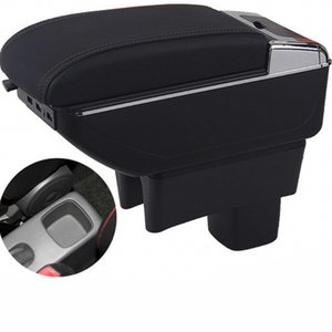 Accouché de voiture Boîte Accessoires d'intérieur Suzuki Swift Center Console Console Cuir artificiel pratique Matériau de la mode Simple Fashion Decoration