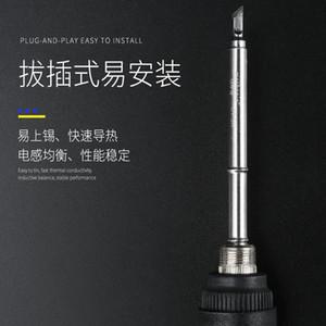 Tout dans une tête de fer TIGE T12 Core de chauffage Type de chaleur externe Type de chaleur longue Soudage de téléphone portable Toiles de réparation