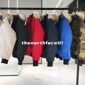 Мужская зимняя куртка FourRure Down Parka Homme Chaqueas Верхняя одежда Большой мех с капюшоном FunRure Manteau мужчины женщины вниз куртка Пальто Дудуне
