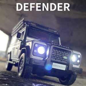 Free Ship New 1:32 Land Rover Defender Alloy Car Model Diecasts & Toy Vehicles Toy Cars Kid Toys For Children Gifts Boy Toy X0102