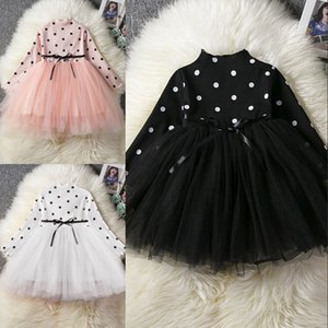Baby Long Sleeve Dress for Girl Children Costume Gift School Wear Kids Party Dresses for Girl 1 2 3 4 5 Years Holiday Clothes 943 X2