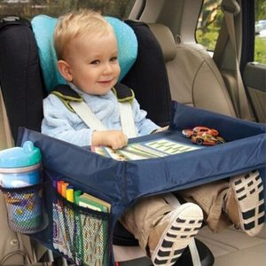 Stroller Parts & Accessories Baby Pram Car Seat Travel Play Tray Child Storage Table Kids Toy Snack Holder Waterproof Desk For Carriage