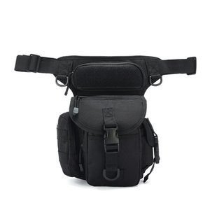 Casual Camouflage Tactical Waist Packs Drop Leg Bag for Men Ourdoor Backpacks Metal Detecting Thigh Pack Waterproof Oxford Journalist Photography Sports Gear