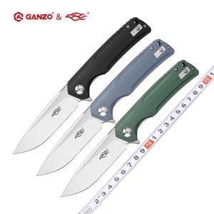 Firebird Fbknife Ganzo FH91 60HRC D2 Blade G10 Ручка складной нож Выживание Кемпинг Карманный нож Тактический EDC Наружный инструмент