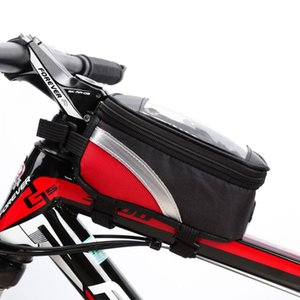 Cycling Bag Bicycle Bike Head Tube Handlebar Cell Mobile Phone Bag Case Holder Screen Phone Mount Bags Case With Touch screen 662 Z2