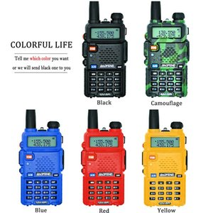 Walkie Talkie Professional CB Radio Station UV 5R Transceiver 5W VHF UHF Portable UV5R Hunting Ham