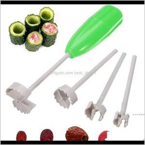 Practical 4Pcsset Kitchen Spiral Cutter Digging Device Stuffed For Vegetable Fruit Corer Tools Spiralizer Ewb5386 Jeudz Cpsr2
