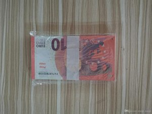 الدعامة اليورو المال الأوراق النقدية وهمية 10 يورو المال طبيعي حجم الدولار البنكنوت الأطفال هدية الإبداعية فيلم المال 99