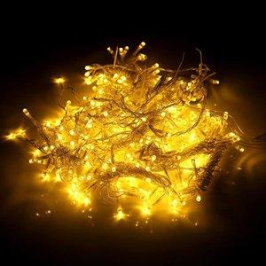 600LED Window Curtain String Fairy Light Wedding Christmas Party Decor(Warm White) High brightness Strings lighting wholesale