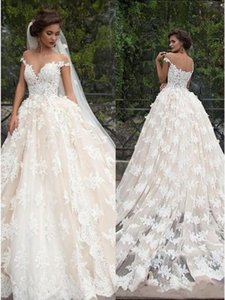 2022 Lace A-line Wedding Dress Modest Cheap Bohemian Vintage Beach Plus Size Bridal Gown Custom Made