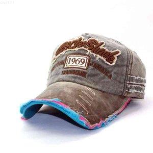 1969 Vintage Snapback Cowboy Hat Adjustable Embroidery Dad for Men Outdoor Trucker Cap with VisorsP9PT{category}