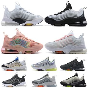 Preferential Top Fashion ZM950 Womens Mens Cushions Running Shoes ZM 950 Triple White Colorful Black Japan Volt Neon Rainbow Sport Trainers Sneakers