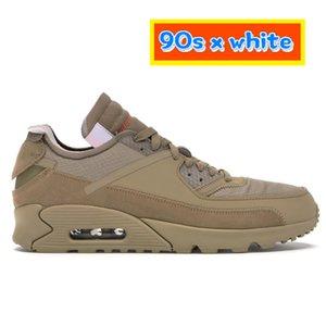 2021 Uomini più nuovi 90s X Scarpe da corsa bianche Desert Desert Ore Black UNC University Blue Low Mens Sneakers Fornatori EUR 40-45