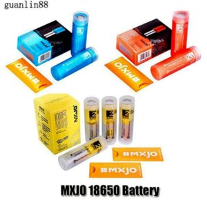 Authentic MXJO IMR 18650 Battery Type 1 2 Red Blue Yellow 3500mAh 20A 3000mAh 35A 3.7V Rechargeable Lithium Vape Mod Batteries