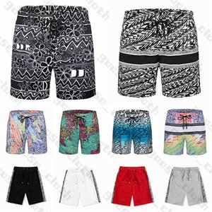 2021 Hombres diseñadores para mujer pantalones cortos de verano de moda Streetwears Ropa Secado rápido Traje de baño Tablero de impresión Pantalones de playa Hombre S Nadadar corto