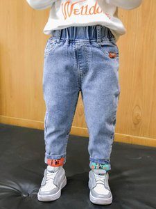 Jeans Kids Boys Fashion Clothes Classic Pants Denim Clothing Children Baby Boy Casual Bowboy Long Trousers 2-6Y