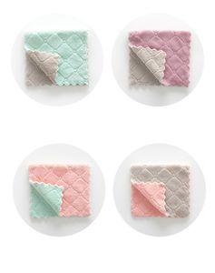 Vente en gros de tissu de nettoyage en microfibre réutilisable super absorbant serviette à la maison Aoil and Supre Netty Wipe Rag Kitchena Fournitures GWA4751