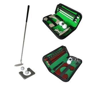 Multi-type Golf Putter Putting Trainer Set Indoor Training Equipment Golfs Ball Holder Aids Tool With Carry Case XQ Complete Of Clubs