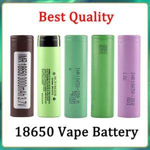 Good Quality 18650 Battery HG2 30Q VTC6 3000mAh NCR 3400mah 25R 2500mAh E Cig Mod Rechargeable Li-ion Cell