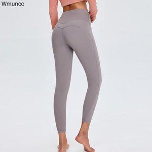 WMuncc Fitness Weibliche Leggings Laufen Jogger Hosen Formfitting Mädchen Yoga Sport Gym Frauen Hohe Taille Bauch Strumpfhosen Feste Farbe Outfit