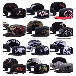2021 Metall Baseballkappen Mulisha für Männer Frauen Gorras Bones Sport Hip Hop Street Outdoor Snapback Hüte