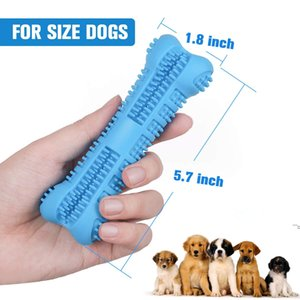 Dog Toothbrush Toy Brushing Stick Pet Molar Toothbrush for Dog Puppy Tooth Healthcare Teeth Cleaning Chew Toy Brush DWD6579