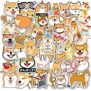 50 Animal Cute Pet Collection Firewood Dog Husky Kirky Luggage Stickers Waterproof Graffiti TJ98723