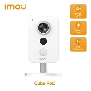 Dahua IMOU CUBE POE 1080P Камера PIR Обнаружение внешнего интерфейса тревоги Звук Двухстороннее Обсуждение Power Over Ethernet IP Cameras