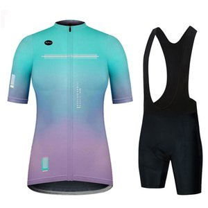 Summer Short Women's Cycling Jersey Quick-drying and Breathable 19d Bib Set Mountain Bike