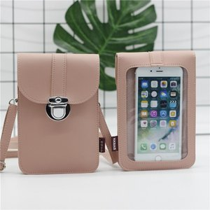 Wonderlife Small Mini Crossbody Bag Transparent Shoulder For Women Touching Screen Female Sac A Main Girl Money Phone Storage Bags
