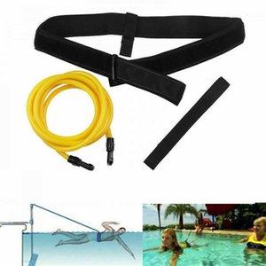 Adjustable Swimming Training Equipment Resistance Bands Elastic Belt Set Water Sports Swim Strength Exerciser Safety Rope Latex Tubes