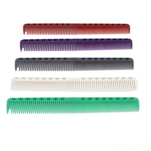 Hair Brushes 1 PC Professional Anti-static Salon Flattop Cutting Comb Carbon Hairdressing Brush Women Styling Tools