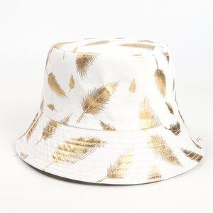 Summer Bucket Hat Fisherman cap women Men Gift wide brim Floral Universal Outdoor Travel Sun beach hats GGA4642