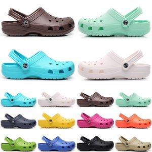 2021 designer men women shoes slides slippers womens sandals black white grey slide slipper flat flip flops size 36-42 color16