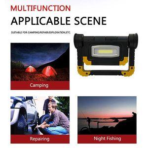 Searchlight 150W Portable Spotlight Waterproof Work Light Working Lamp Handy Use 4XAA Battery LED