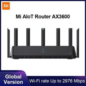Xiaomi Mi Aiot Router Ax3600 WiFi 6 Dual-Band 2976 Mbs Gigabit Taxa WPA3 Security Criptografia Malha WiFi Amplificador de sinal externo