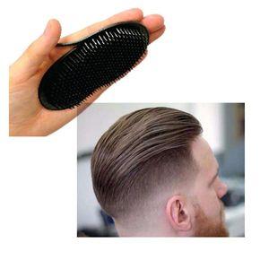 Hair Brushes 1Pc Men Comb Brush Pocket Travel Portable Beard Mustache Palm Styling Tools Scalp Massage Black Shampoo